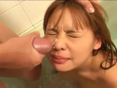 Small tit Asian hairy cunt felt out!