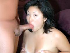 Asian Newcomer Gives Oral