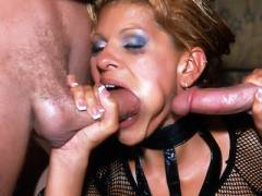 Big Boobed Latina Gets Double Teamed