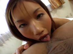 Maria Fujisawa tongues butt hole and licks penni