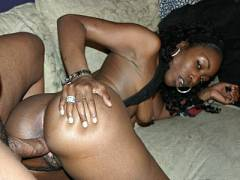 Hard Fucked Black Beauty