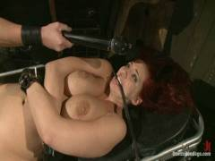 Device Bondage: Kelly Divine: Stretched, Drilled, Flogged, And Squirting Everywhere, Rosebud Exposed