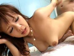 Rin Yuuki drilled deeply in her ass – hot back scuttle